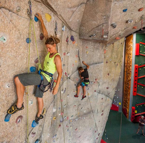 Sport Climbing Wall - Basecamp Wanaka